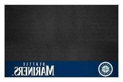 Fanmats 12168 MLB Seattle Mariners Vinyl Grill Mat
