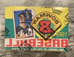1989 bowman baseball wax box 36 packs