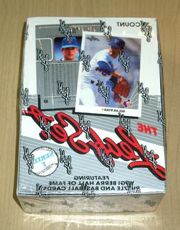 1990 90 LEAF baseball series one 1 sealed wax foil 36-pack b