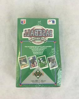 1990 edition upper deck baseball cards sealed