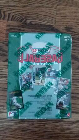 1992 Fleer Baseball Sealed Wax Box 36 Unopened Packs - FAST