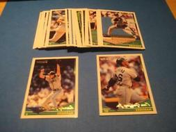 1994 Topps Gold Parallel Seattle Mariners Team Set 28 Cards