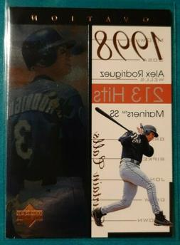 1999 UPPER DECK OVATION CURTAIN CALLS ALEX RODRIGUEZ #4 SEAT