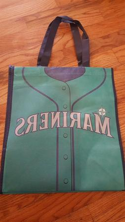 "2017 Seattle Mariners Grocery Tote Bag Green ""Jersey"" Reusab"