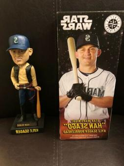 "2018 Kyle Seager Seattle Mariners Star Wars Han Solo ""Han"