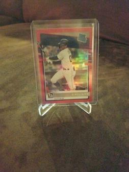 2020 Donruss Red Holo Parallel Rated Rookie RC Kyle Lewis Se