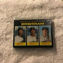 2020 TOPPS HERITAGE SEATTLE MARINERS BASE TEAM SET 10 CARDS