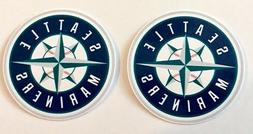 2x Seattle Mariners Car Window Bumper Laptop Wall Vinyl Stic