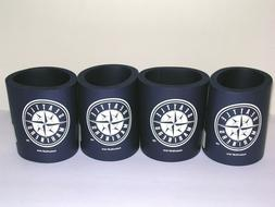 4 Lot Seattle Mariners Thick Foam Pop/Beer Can Cooler Coozie