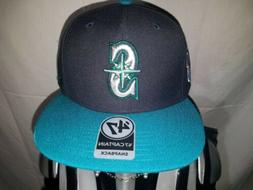 '47 BRAND Seattle Mariners Captain Snapback Cap Hat New