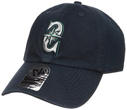 '47 Brand Seattle Mariners Cleanup Adjustable Hat - Navy Blu