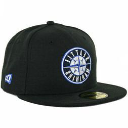 New Era 59Fifty Seattle Mariners Fitted Hat  Mens Custom Cap