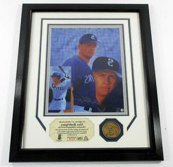 Alex Rodriguez Framed Chromium Lithograph and Coin Highland