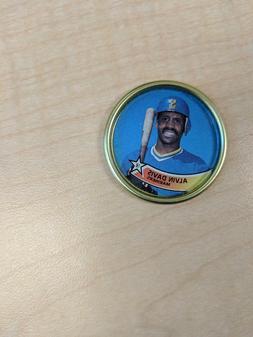 Alvin Davis 1987 Topps Coins Baseball - Seattle Mariners