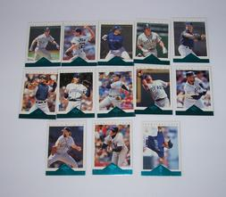 Baseball cards Seattle Mariners Lot of 13 Pinnacle vintage s