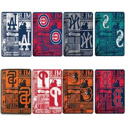 "Northwest Baseball Pick Your Team Soft Throw Blanket 50"" x 6"