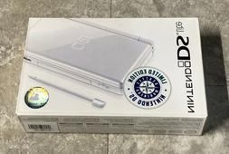 Brand New Limited Nintendo DS Lite Seattle Mariners Polar Wh