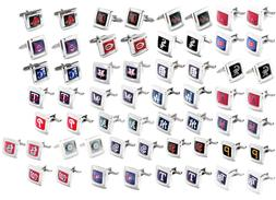 cufflinks square wedding grooms gift set MLB PICK YOUR TEAM