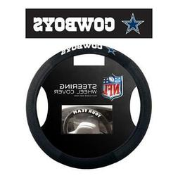 Dallas Cowboys Poly Suede Steering Wheel Cover  NFL Car Truc