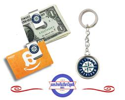 FREE DESIGN > SEATTLE MARINERS - Money/Gift Card Clip or Key