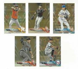 gold parallel 2018 complete your set 2018