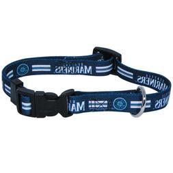 Hunter MFG Seattle Mariners Dog Collar, Medium