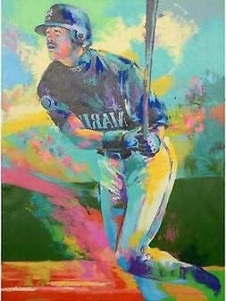 Ichiro Suzuki Seattle Mariners 2003 Fanfest Original Artwork