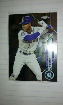 Kyle Lewis 2020 Topps Chrome Base RC #186 Seattle Mariners