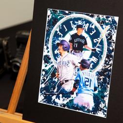 kyle seager 15 seattle mariners custom artwork