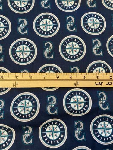 1 4 yard 9x58 seattle mariners print
