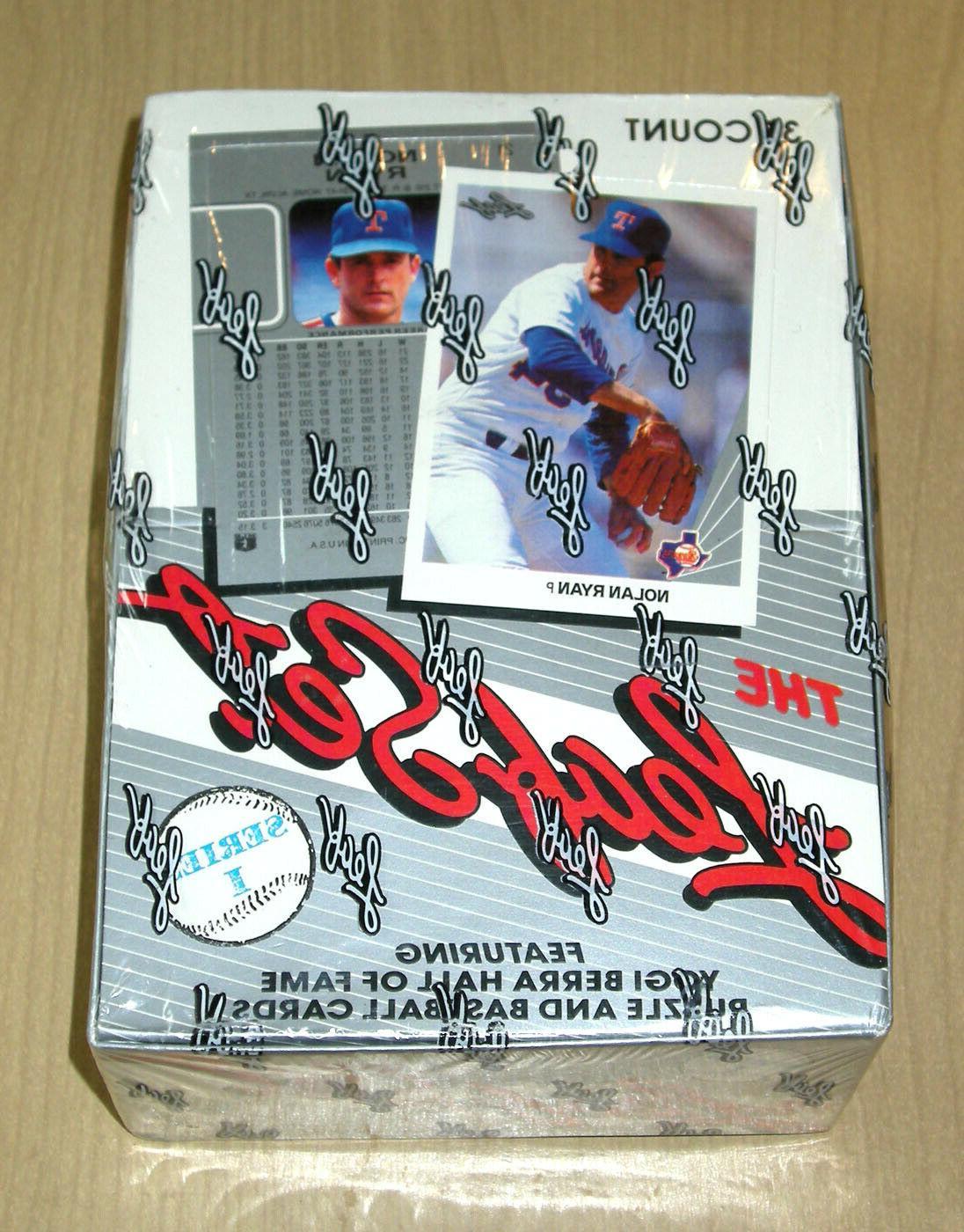1990 90 leaf baseball series one 1