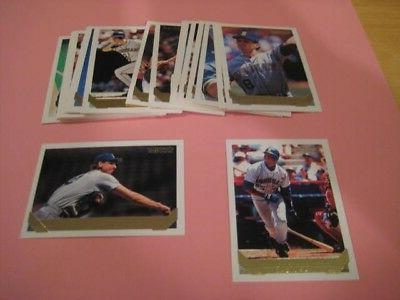 1993 topps gold parallel seattle mariners team
