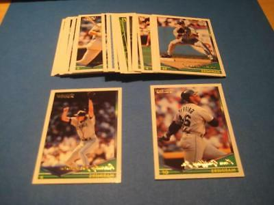 1994 topps gold parallel seattle mariners team