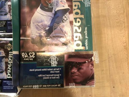 1998 Deck 1 Baseball Sealed Box + 28/36 MLB