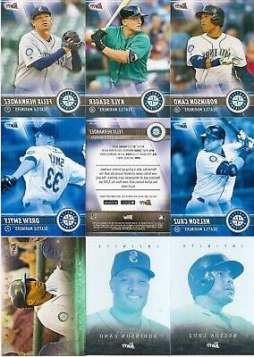 2017 topps bunt seattle mariners master team