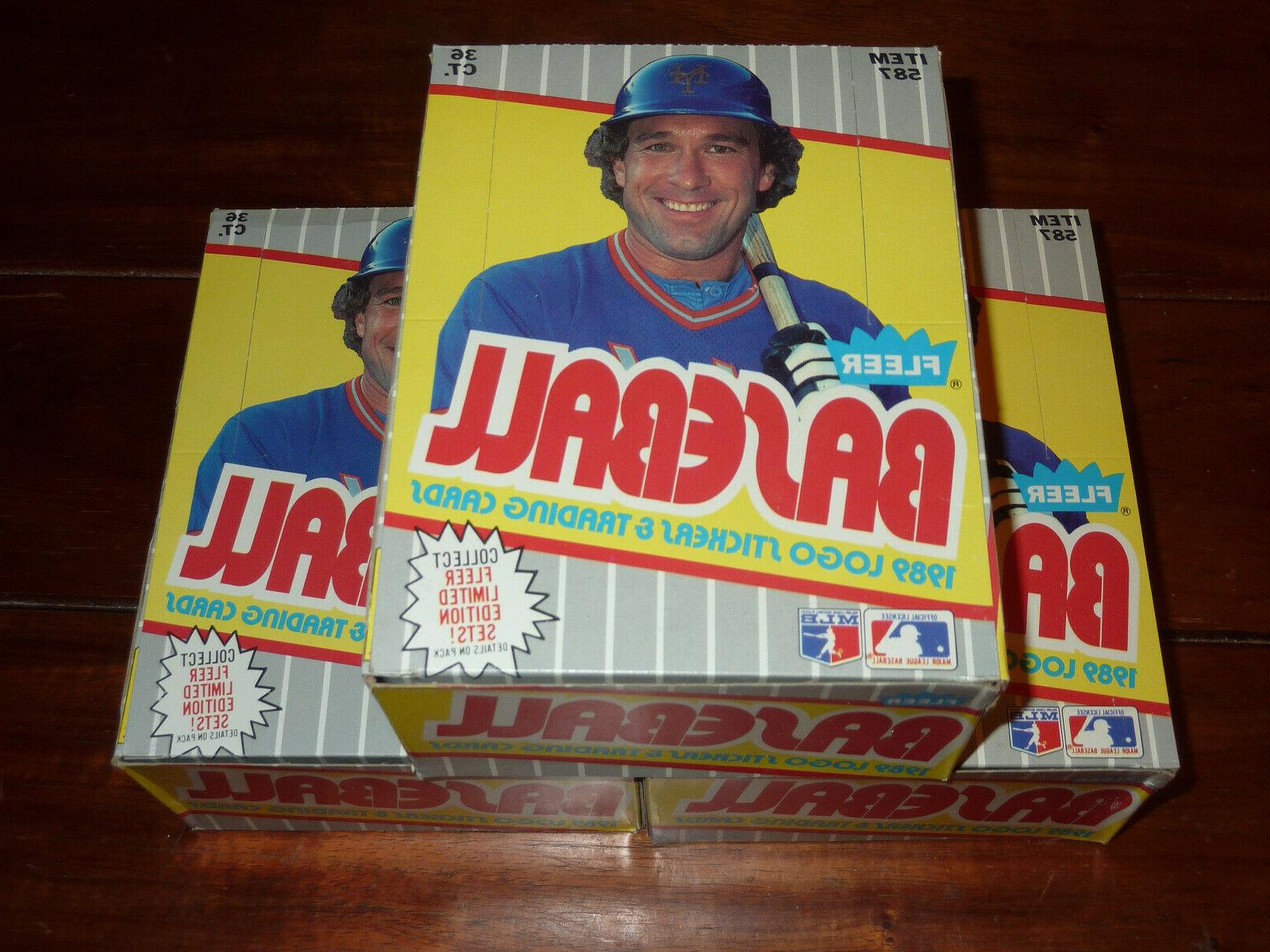 3 1989 fleer baseball wax boxes 36