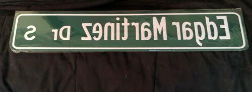 edgar martinez dr s street sign sga