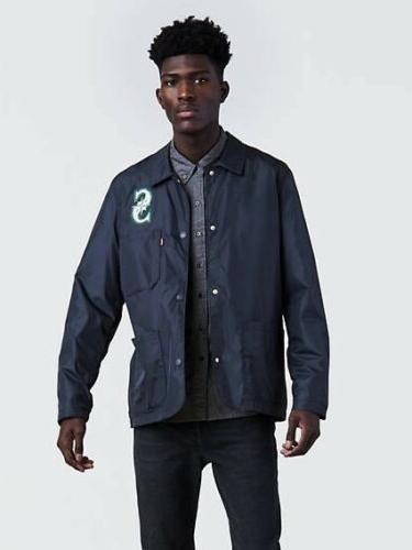 levis mlb seattle mariners club coat windbreaker