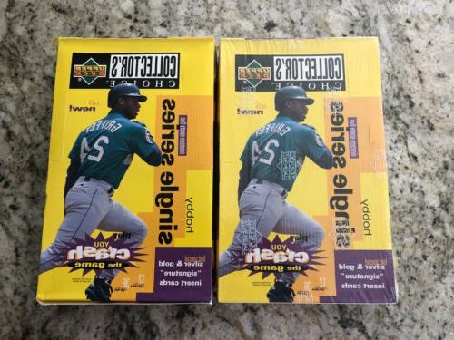 lot of 2 1995 collectors choice baseball