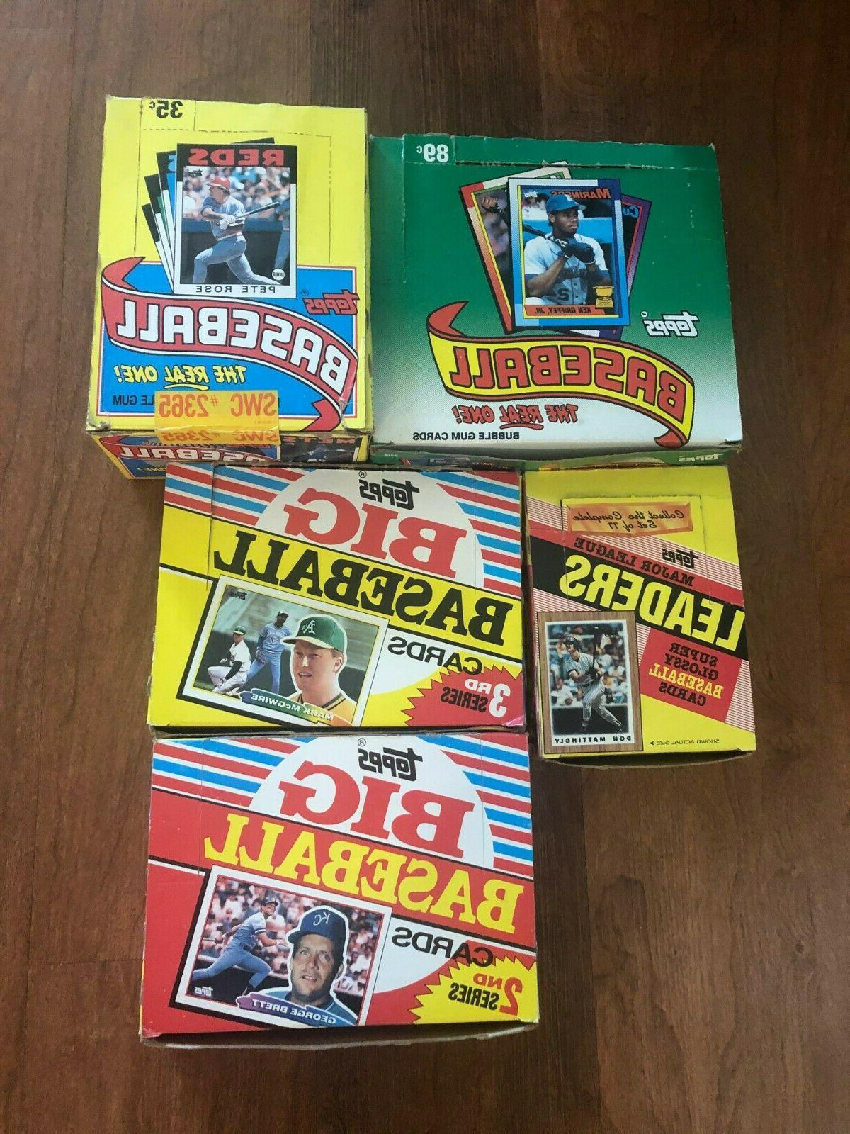 lot of 5 1986 1987 1988 1990