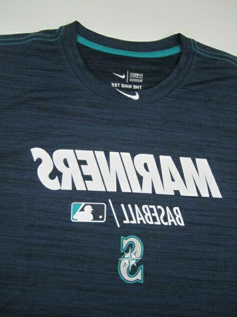 Mens XXL Mariners Nike Dri Fit shirt NWOT