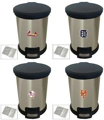 mlb baseball team logo theme stainless steel