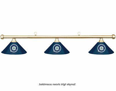 mlb seattle mariners blue metal shade brass