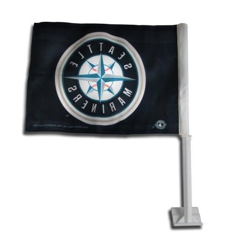 mlb seattle mariners car flag