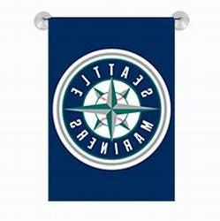 Party Animal MLB Seattle Mariners Garden Flag