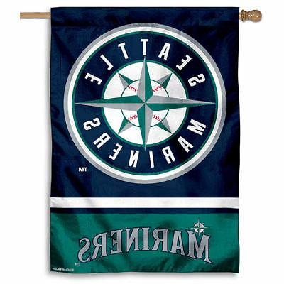 mlb seattle mariners house flag and banner