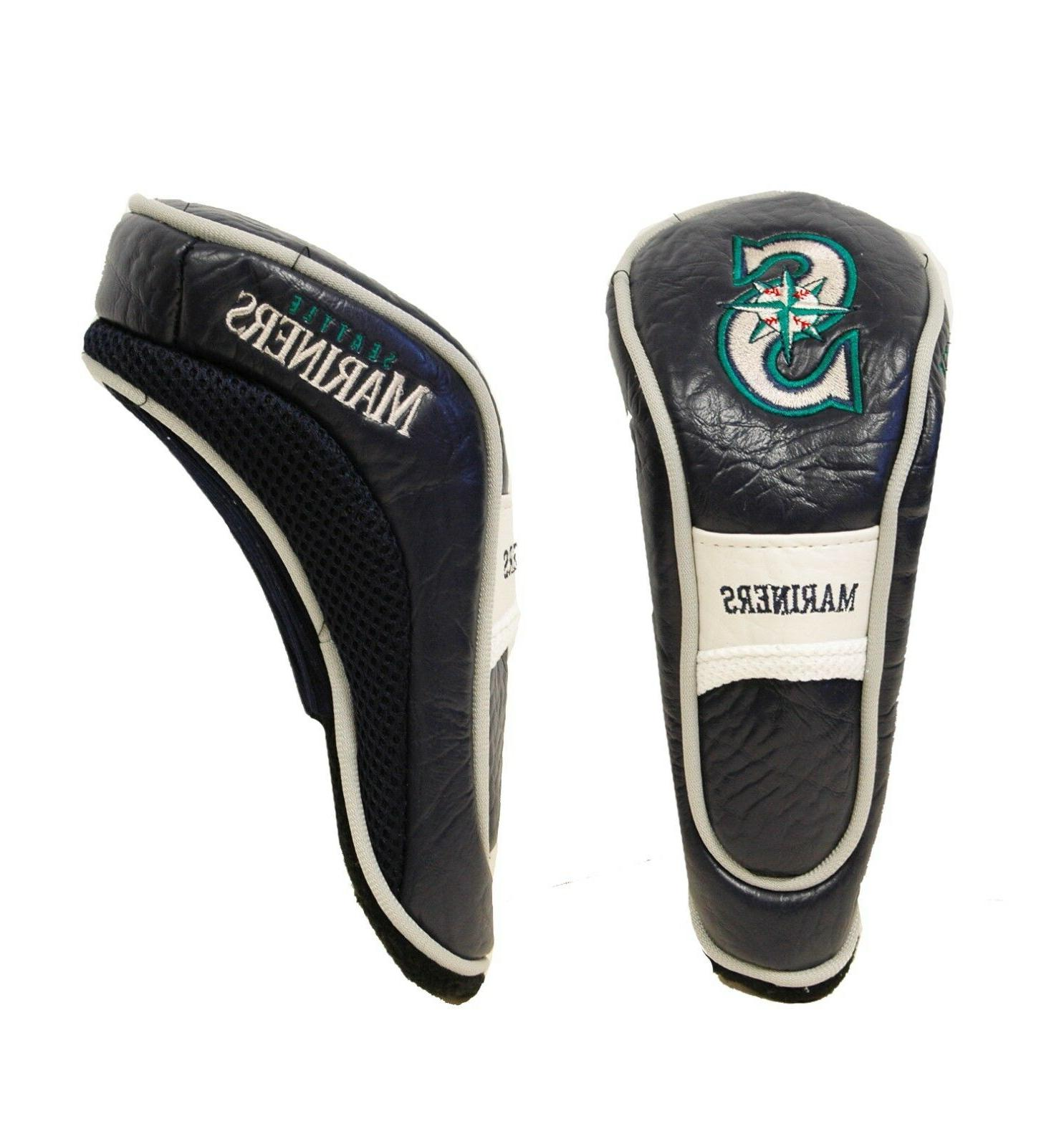 MLB Seattle Mariners Hybrid Head Cover, Navy