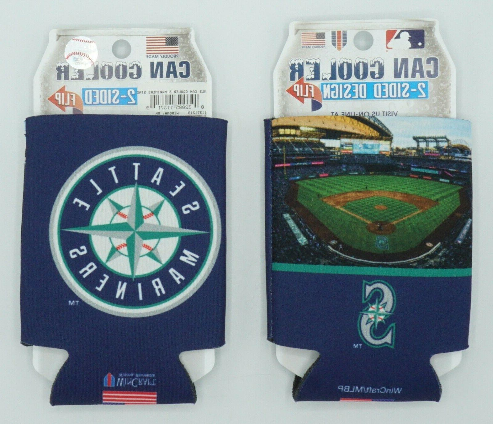 mlb seattle mariners insulated 12 oz can