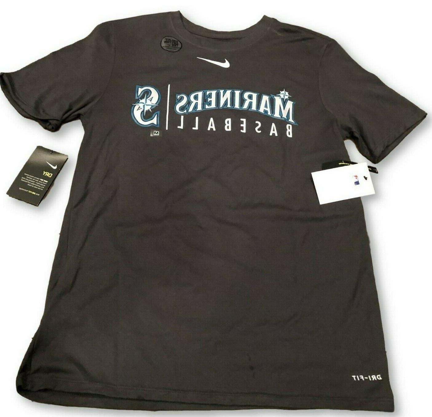 new nwt seattle mariners dri fit cotton