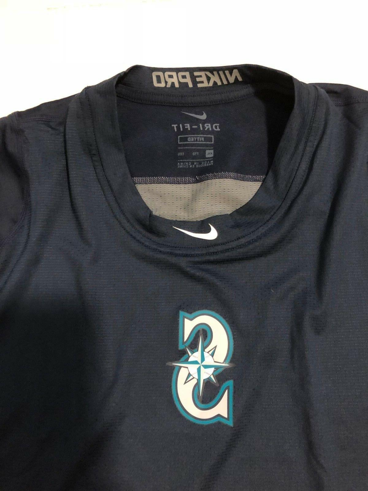 Mariners Fitted L/S Mens Size